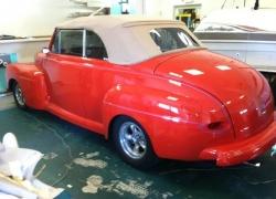 full interior _ convertible top